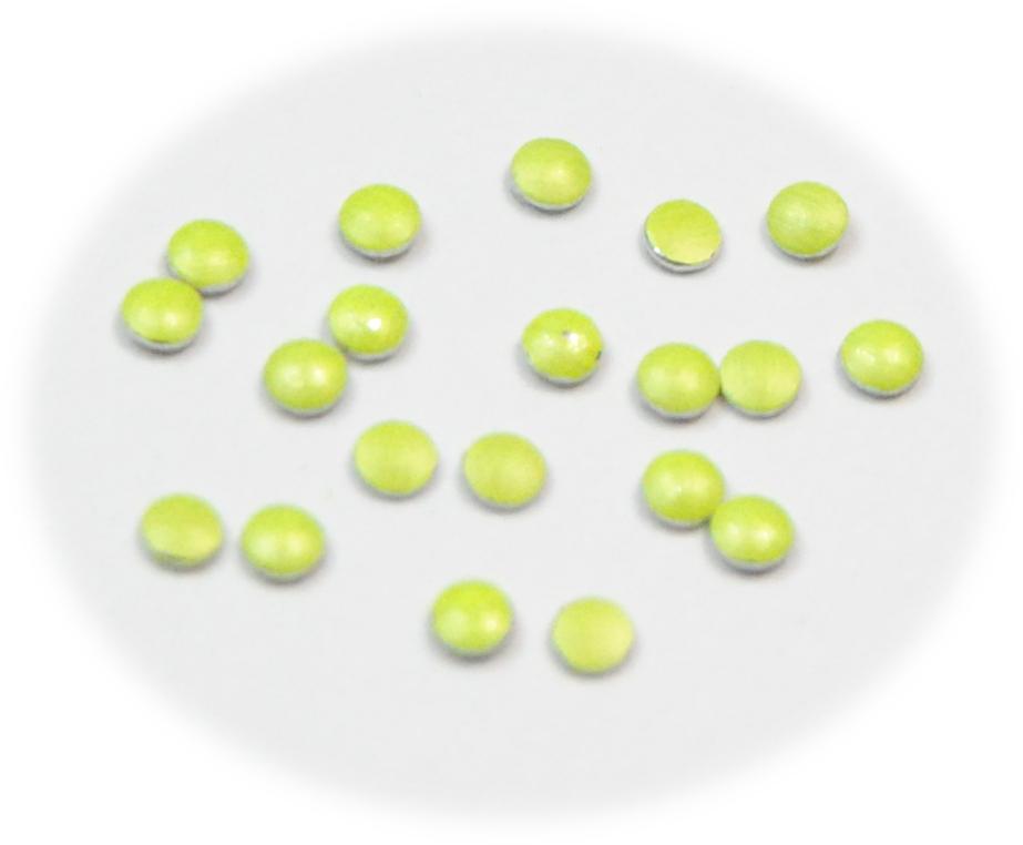Vločky neonové žluté malé pro zdobení nehtů