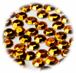 Vločky tvarované metalické zlatá